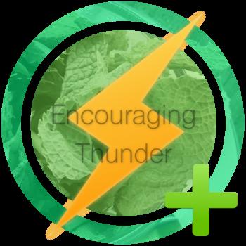Encouraging Thunder