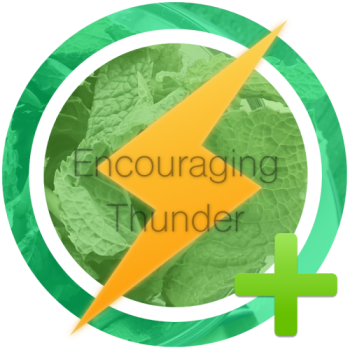 Encouraging Thunder Award Announcement