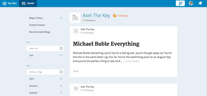 Axel The Key